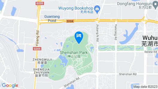 Ramada Wuhu Map