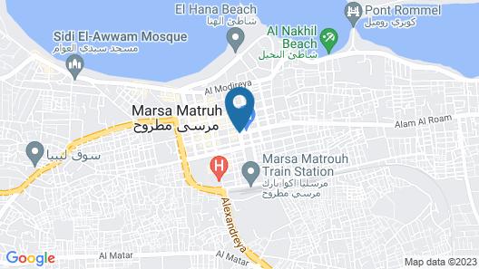 Almanara Hotel Marsa Matrouh Map