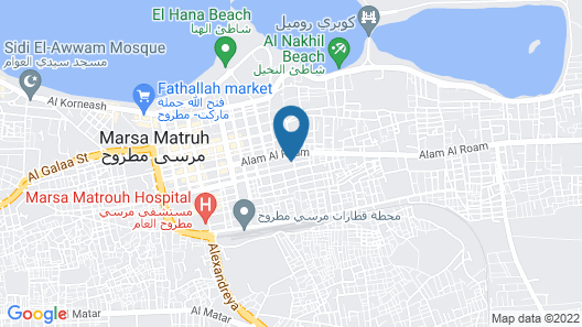 Alsaman Apartments Map