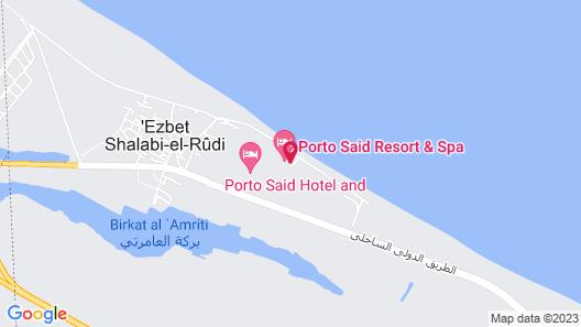 Porto Said Resort & Spa Map