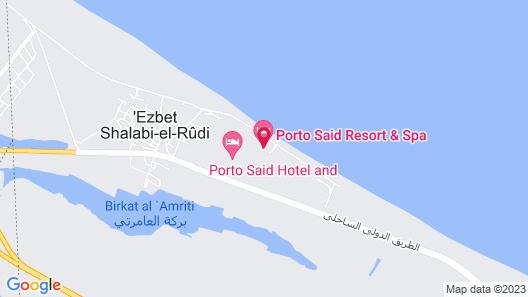 Porto Said Tourist Resort Luxury Hotel Apartments Map