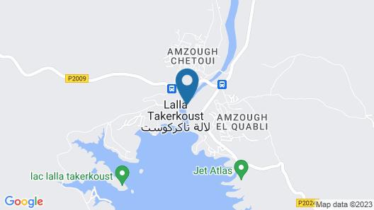 Charmante Maison D'hôte au Bord de la Rivière de Tensift el Haouz Map
