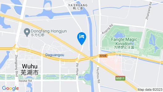 Wuhu Fangte hotel Map