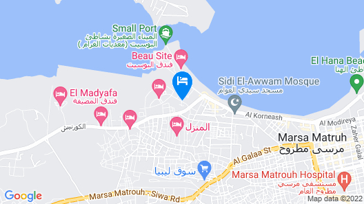 Matrouh Armed Forces Apartments Map