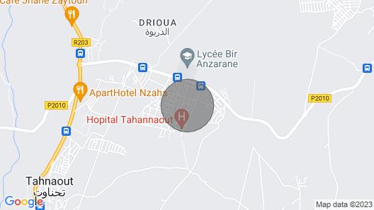 Dar Aicha Tahanaout Map
