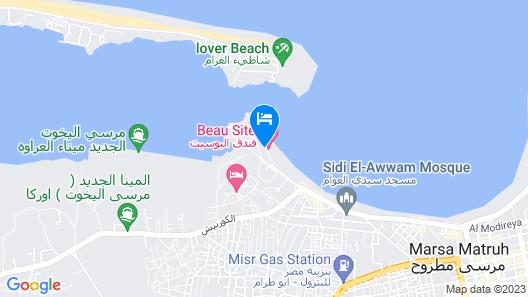 Beau Site Hotel Marsa Matruh Map
