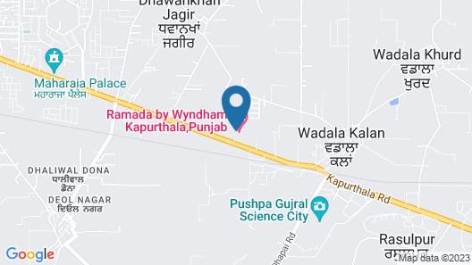 Ramada by Wyndham Kapurthala Map