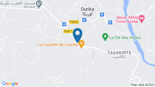 Chez Mamouchthka Map