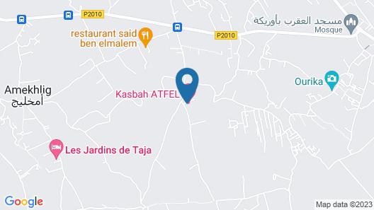Kasbah Atfel Map