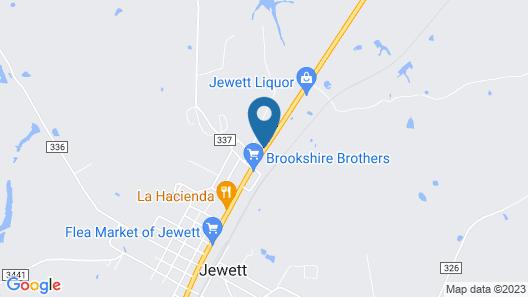 Executive Inn & Suites Jewett Map