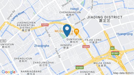 Courtyard by Marriott Shanghai Jiading Map