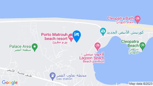 Porto Matrouh Chalets Map