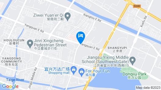 Le Méridien Yixing Map