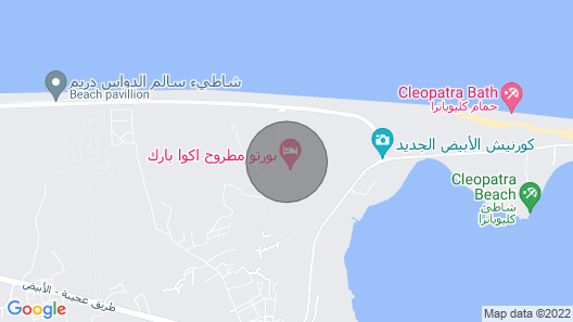 Porto Matrouh Resort Map
