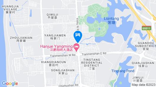 Jinjiang Inn Wuhu Fangte Map
