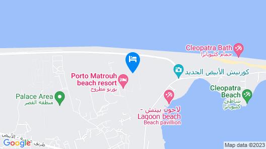 Chalets Porto Matrouh Map