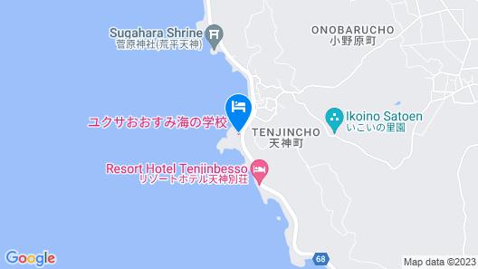 Yukusa Ohsumi Umi no Gakko Map