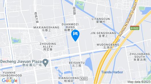 Pullman Suzhou Zhonghui Map
