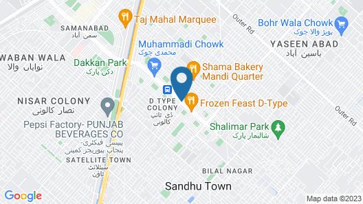 Hotel One Faisalabad Map