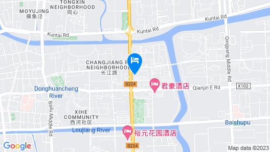 Sovereign Hotel KunShan Map