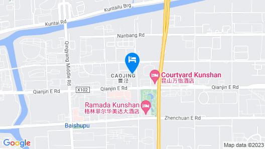 Courtyard by Marriott Kunshan Map