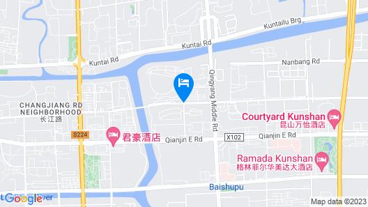 Jinjiang Inn Kunshan Tongfeng Rd Map