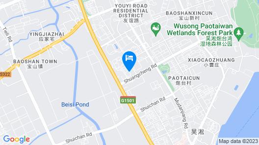 Shanghai Chenyuan Hotel Map