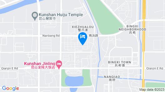 Jinling Grand Hotel Kunshan Map