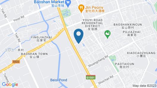 Delta Hotel by Marriott Shanghai Baoshan Map