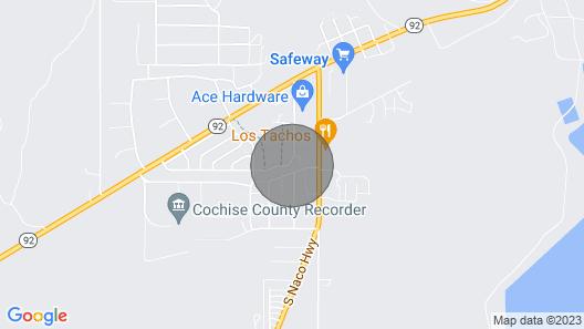 Hidden Gem of Bisbee Map