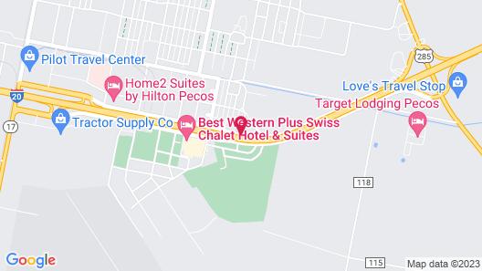 La Quinta Inn & Suites by Wyndham Pecos Map