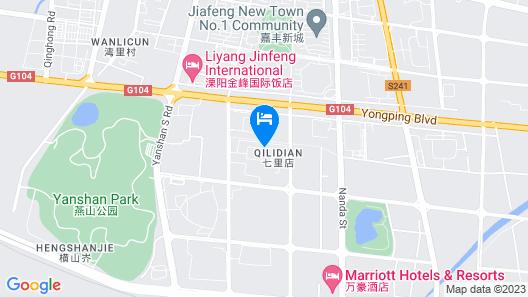 Holiday Inn Express Liyang Huafu, an IHG Hotel Map