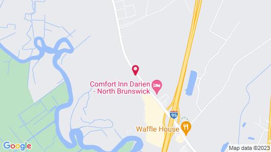 Quality Inn Darien-North Brunswick Map