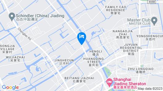 Sheraton Shanghai Jiading Hotel Map