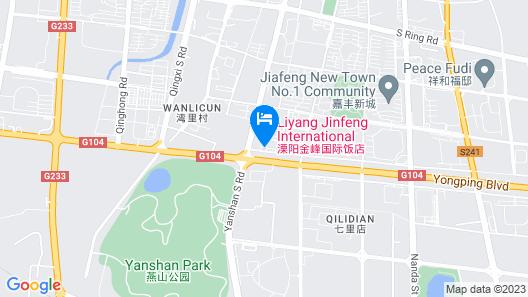 Liyang Jinfeng International Hotel Map