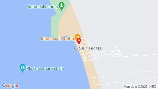 Laguna Shores Resort Map