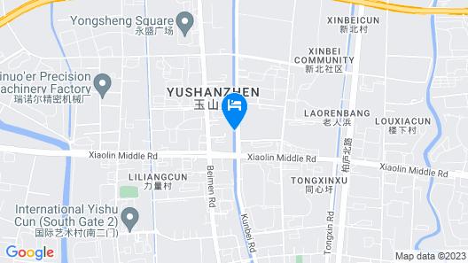 Crowne Plaza Kunshan Map