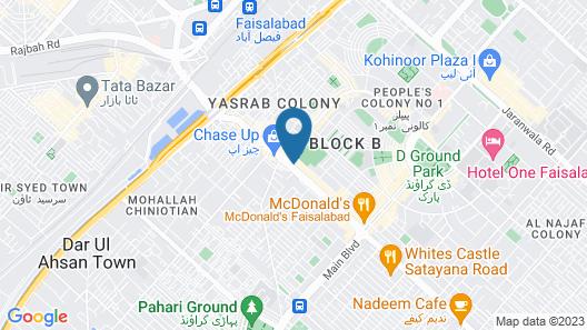 Sandal Bar Hotel Map