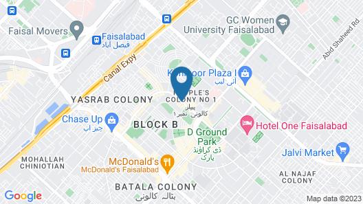 Grand Regent Hotel & Suites Map