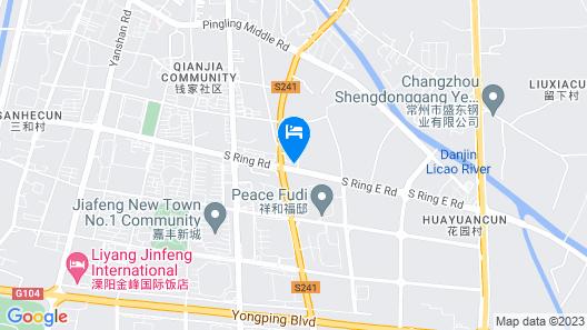 Greentree Inn Liyang Nanhuan East Road Map