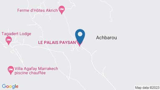 Le Palais Paysan Map