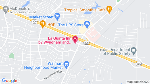 La Quinta Inn by Wyndham and Conference Center San Angelo Map