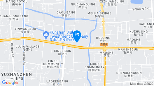 7 Days Inn Kunshan Huanqing Road of North City Map