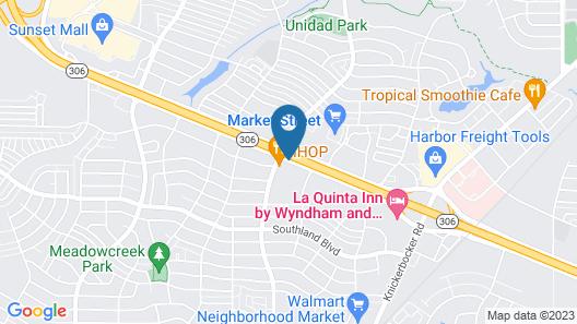 Hampton Inn San Angelo Map