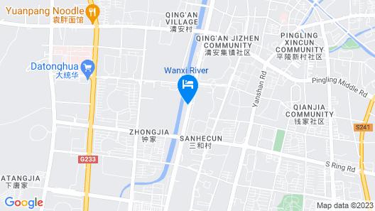 Greentree INN Liyang Tianmu Lake Avenue Taigang W Map