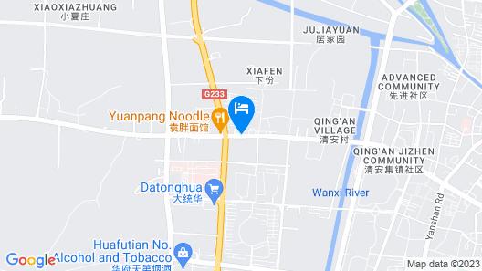 Metropolo  Liyang Pingling West Road Hotel Map