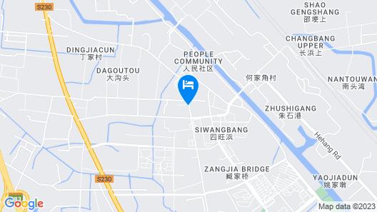 Greentree Inn Suzhou Wangting Zhanwang Business Hotel Map