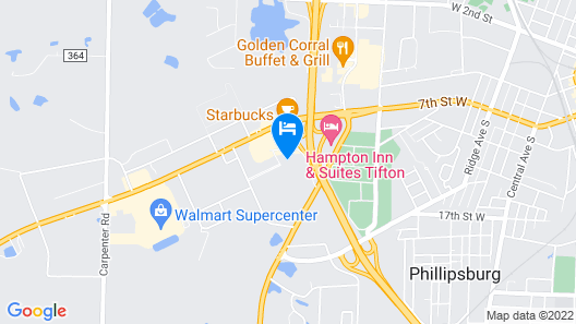 SpringHill Suites by Marriott Tifton Map