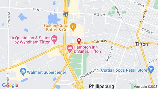 Fairfield Inn & Suites by Marriott Tifton Map