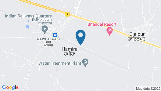 Hamira Luxury Homestay Map
